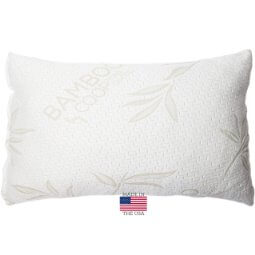 Shredded Memory Foam Pillow with Bamboo Cover Review