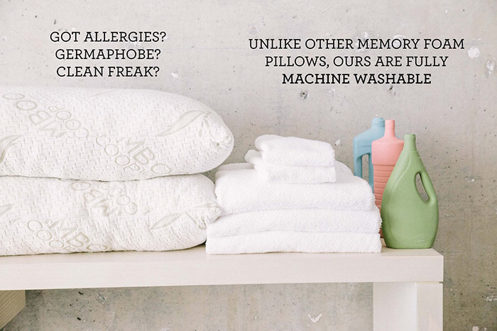 Cleaning Memory Foam Pillow Made Easy   How To ?