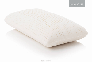 The Z 100% Natural Talalay Latex pillow comes in two styles to create the perfect sleeping environment for your preferred sleep position