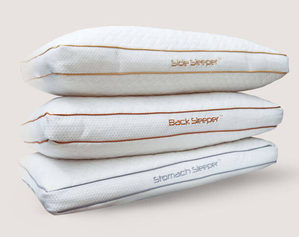 chossing side, back and stomach sleeper pillows