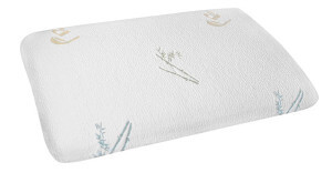 The Best Pillow For Stomach Sleepers Slim Sleeper Memory Foam by DC Labs