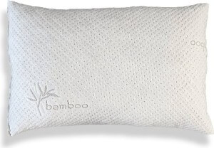 Shredded Memory Foam Pillow With Kool-flow Micro-vented Bamboo Cover by Xtreme Comforts, the best pillow for neck problem