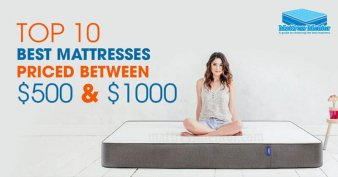 Best Mattresses Under $1000 Reviews 2018
