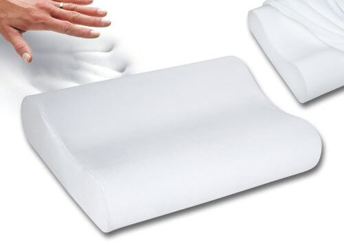 sleep innovations contour memory foam pillow reviews
