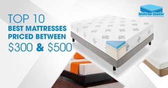 Best Mattresses for the Money Available between $300 and $500