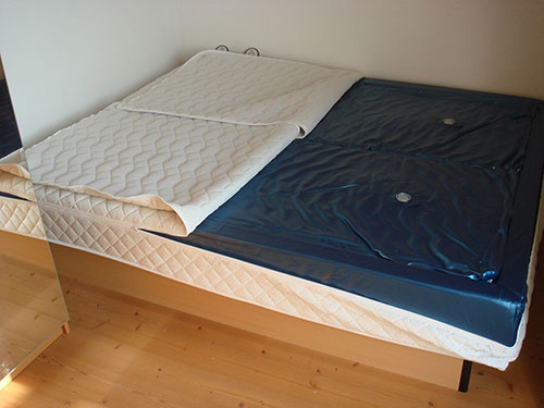 waterbed inside